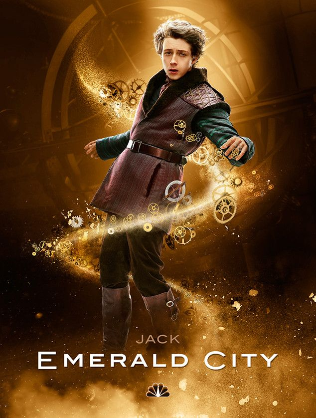 Gerran Howell as Jack in 'Emerald City' (NBC)