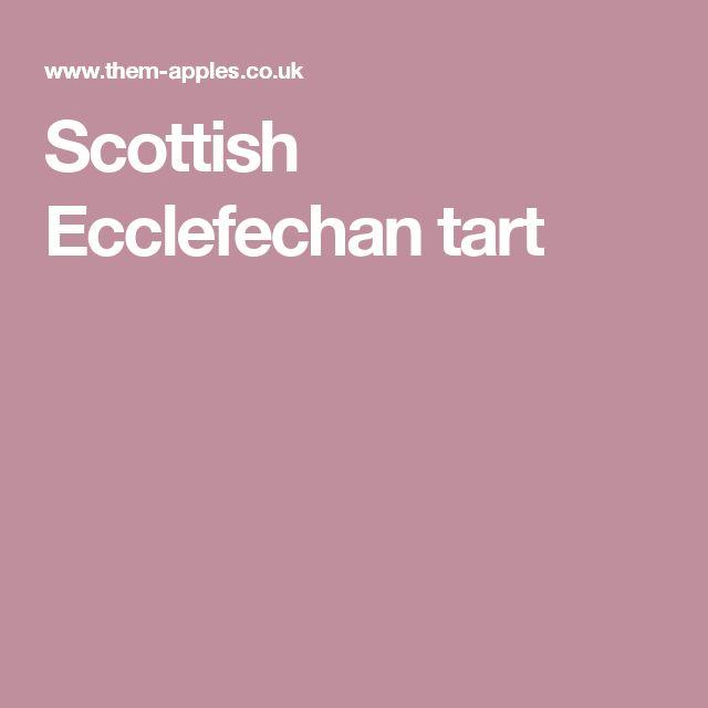 Scottish Ecclefechan tart