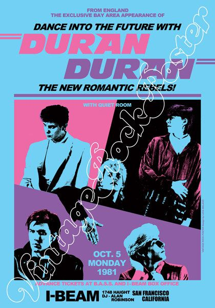 Hey, I found this really awesome Etsy listing at https://www.etsy.com/listing/265220225/757-duran-duran-san-francisco-i-beam-usa