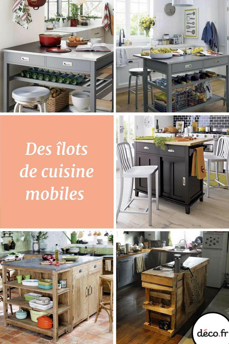 les 25 meilleures idées de la catégorie mobile îlot de cuisine sur