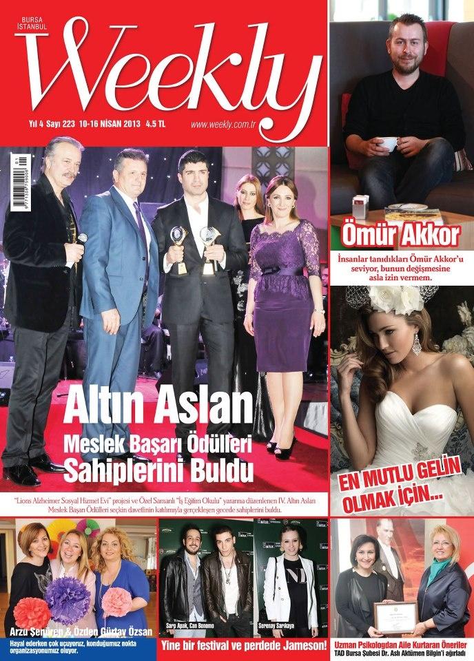 Weekly dergisi, 10-16 Nisan sayısı yayında! Hemen okumak için: http://www.dijimecmua.com/weekly/