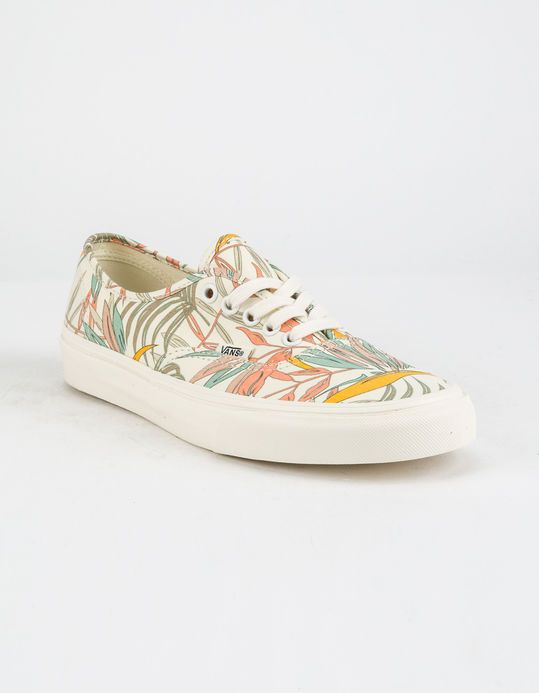 0d38a842a6 VANS California Floral Authentic Womens Shoes - WHTMU - 321289972 ...