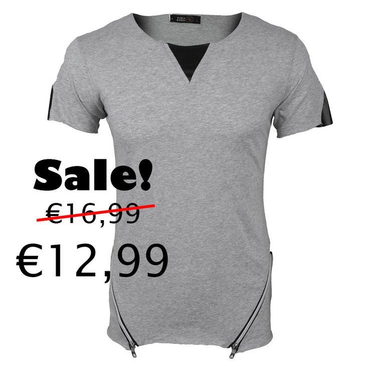 Zipper T grey SALE !  http://mymenfashion.com/zipper-t-shirt-black.html http://mymenfashion.com/camel-coat.html