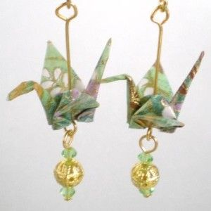 jewelry from Japan | ... in japan this japanese folk art folds paper amazingly to make