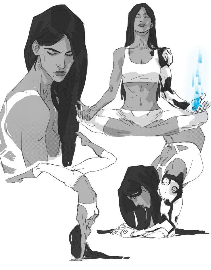 some Symmetra doodles - pREtend-Animator