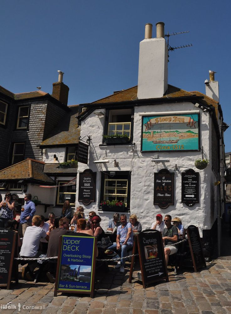 Sloop Inn, St Ives, Cornwall  #RePin by AT Social Media Marketing - Pinterest Marketing Specialists ATSocialMedia.co.uk
