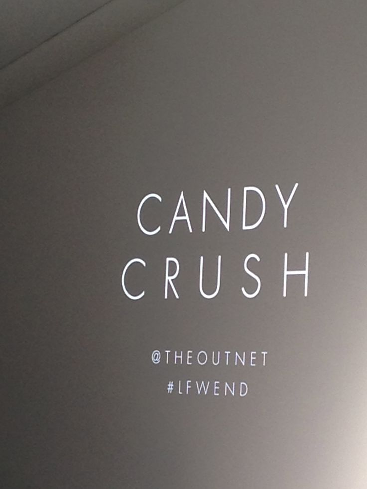 Candy Crush will be a key trend for a/w 2014 then it will move into spring 2015. Mix with a bright accent colour.
