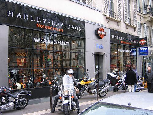 harley davidson bastille paris france