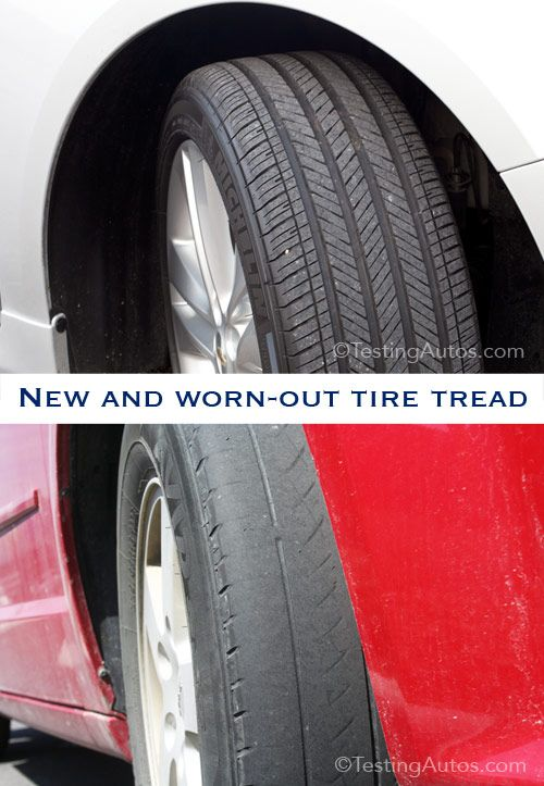 How To Know When It S Time To Replace Your Tires Car Maintenance Car Care Car Hacks