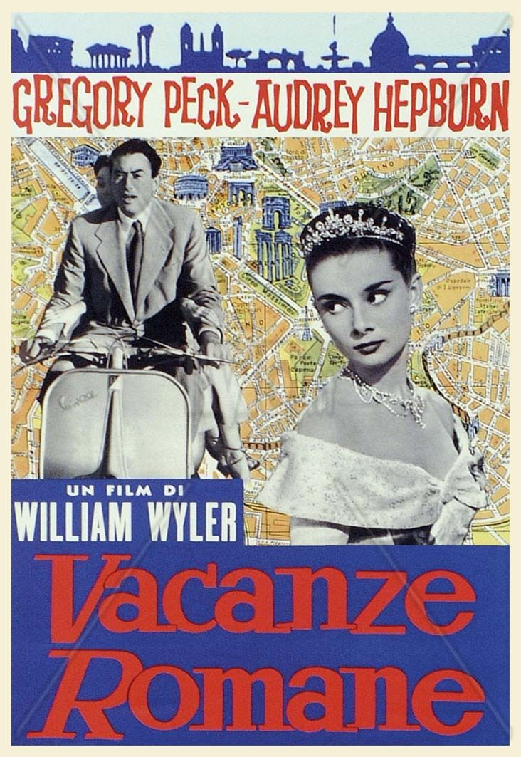 Vacanze romane - Roman Holiday  (Italian setting)