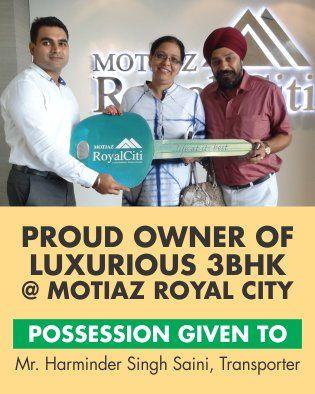 #MotiazRoyalCiti: Possession Update #3BHKFlatsinZirakpur with Harminder Singh Saini https://t.co/u70ifvkob1