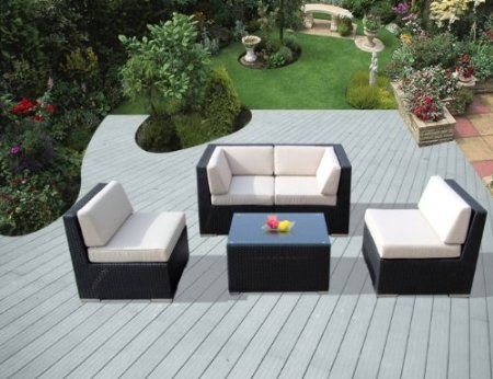 inexpensive patio furniture ohana collection genuine ohana outdoor patio wicker furniture all weather gorgeous couch set with free patio cover - Inexpensive Patio Furniture