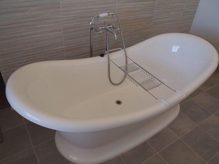 A beautiful bath that a client chose for their ensuite