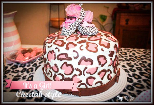 Cheetah baby shower, lots of great ideas - Ask Anna