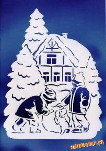 Vianočné vystrihovačky 2