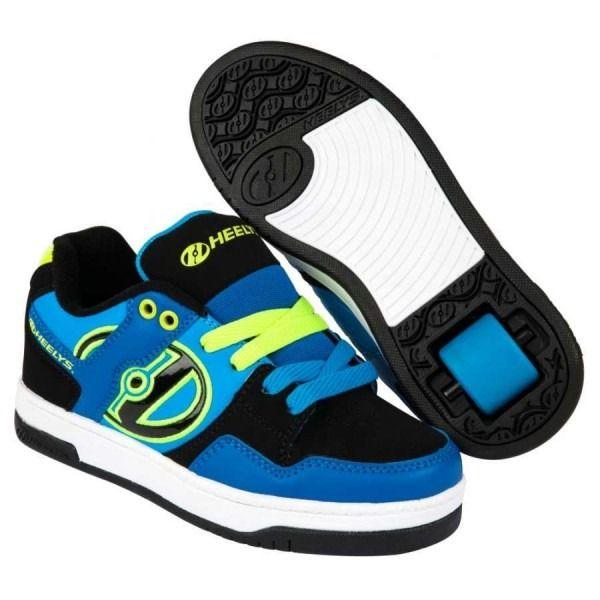 Heelys Flow Shoes Royal Black Lime Heelys Heelysshoes Roller Skate Shoes Kid Shoes Shoes