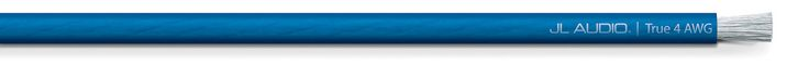 Cable transparente Azul calibre 4 (30.5 m)