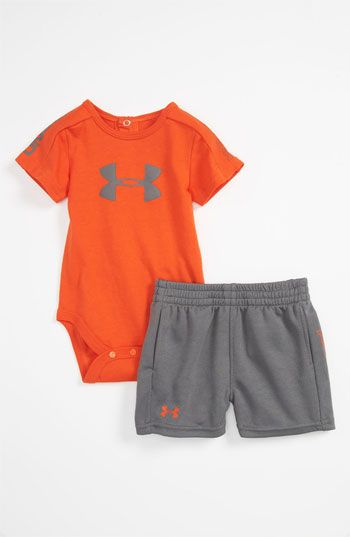 Under Armour 'Integrity 2.0' Bodysuit & Shorts (Infant) | Nordstrom