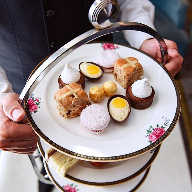 WEBSTA @ langhamsydney - Looking for a place to go on Good Friday?While everything is closed, @langhamsydney will be hosting a Mad Hatter's Afternoon Tea Party for guests, big and small! Available tomorrow, 12pm - 2pm 🍰☕️ Bookings essential ✔️ #Easter #lovinglangham