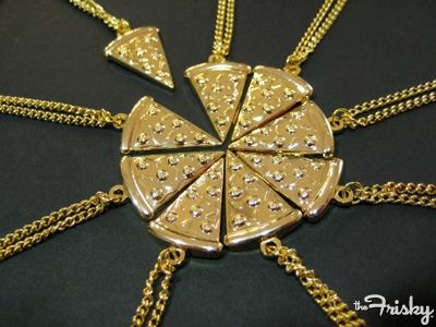 A BFF Necklace For You And All Your Homeslices ;) except i dont think i have that many friends...