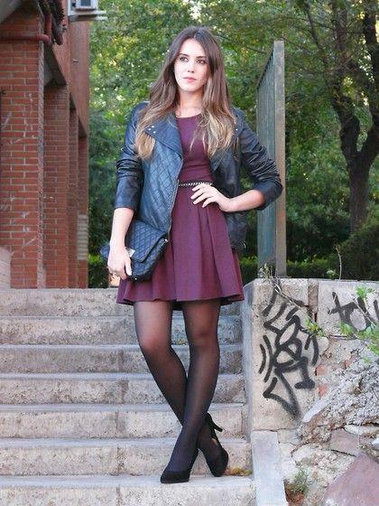 Oxblood dress (by Maria P) http://lookbook.nu/look/4222407-oxblood-dress
