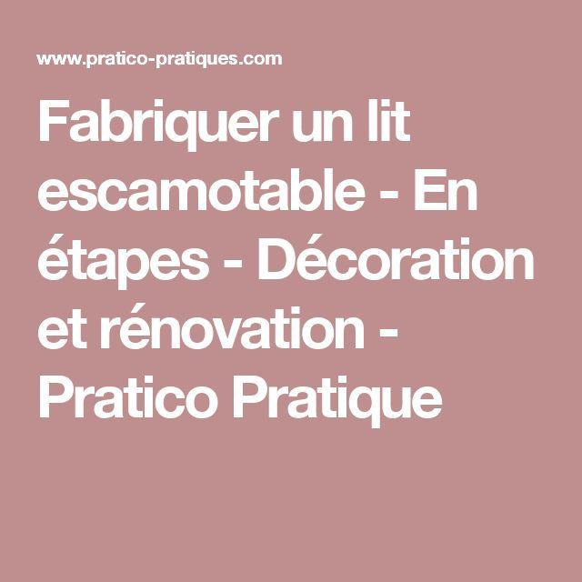 1000 ideas about d coration chambre ado on pinterest for Fabriquer un lit escamotable
