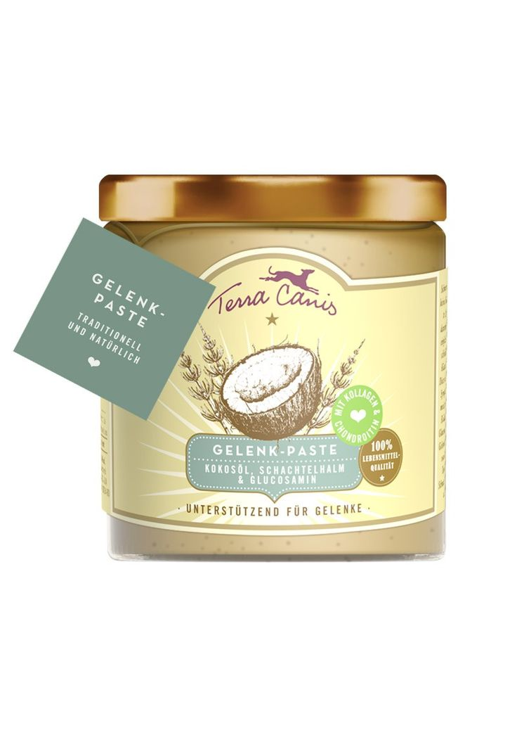 Terra Canis Gelenk-PasteDie Gelenk-Paste vereint traditionelle Zutaten der Naturheilkunde, die bekannt sind sich positiv auf den Gelenkstoffwechsel auszuwirken und die Produktion von Gelenkschmiere zu fördern. Dadurch...