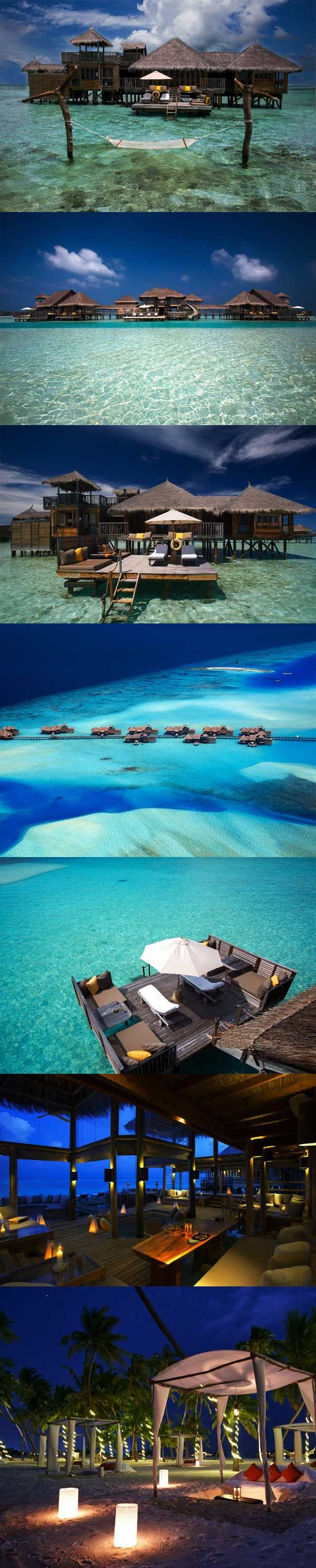 Best hotel in the world 2015. Gili Lankanfushi in Maldives is set on the private tropical island of Lankanfushi in the Malé Atoll. The resort consists of 45 over water villas, meaning every guest gets a piece of paradise all to themselves. Planing a trip to Maldives? Do it with the world's smartest trip planner triphobo.com