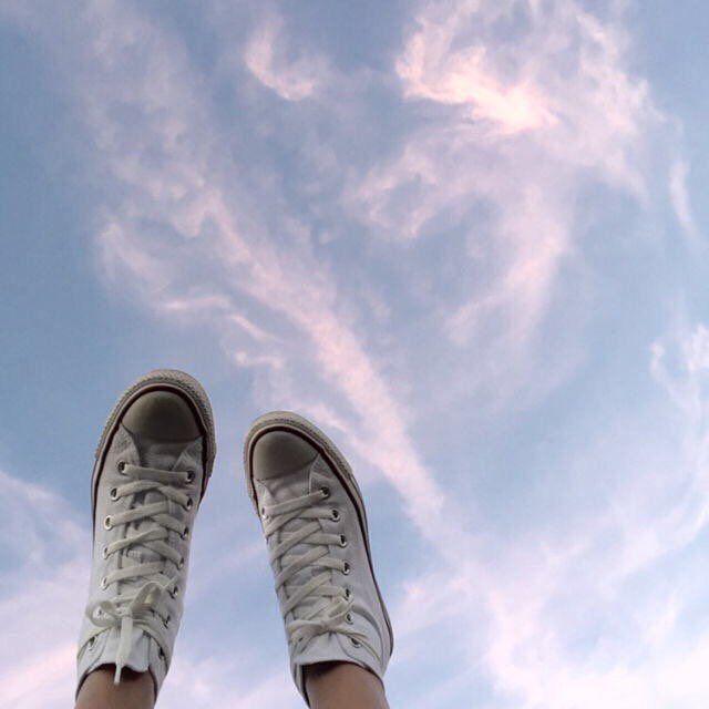 En ocasiones necesitamos subir los pies y sentir el viento que se desliza entre ellos