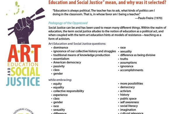 social justice in education Students in the master of arts in teaching: urban education and social justice (mat: uesj) program will explore critical, transformative pedagogies as a part of their preparation to teach in urban schools.