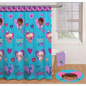 Doc McStuffins Shower Curtain
