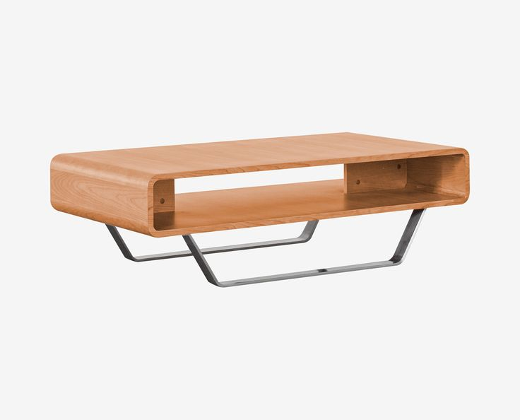 Dania   The Baptisia Coffee Table Has A Modern Shape Made And Utilizes  Mixed Materials With