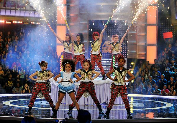 The ladies of 8 Flavahz play with fire during their routine. Tune into ABDC Wednesday nights at 10/9c on MTV.