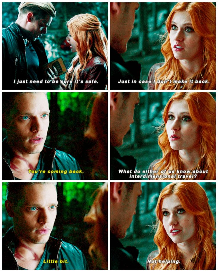 """#Shadowhunters 1x10 """"This World Inverted"""" - Clary and Jace"""