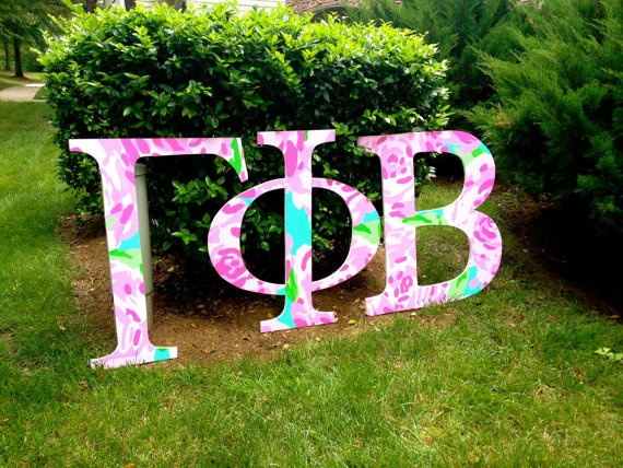 sorority large greek wooden letters by shopfoursisters on etsy 10000