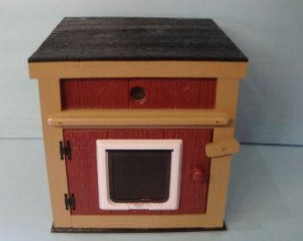 CALIENTA taza gato casa climatizada al aire libre cama por stabob