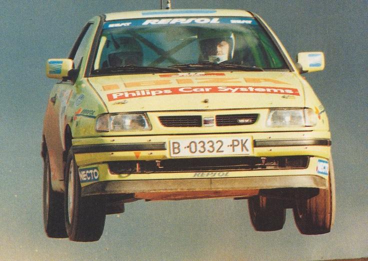 Seat Ibiza Gr.A World Rally championship.