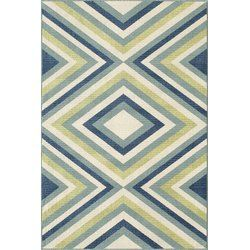 Garner compliments from your guests for your classy style with the Varick Gallery Wexler Indoor/Outdoor Area Rug. The multicolor geometric print on this rug can accentuate the beauty of your contemporary home, wherever you place it and can blend well with all types of color schemes. This rug is made from 100% polypropylene, which provides sturdiness and endurance to wear and tear. The machine made rug is available in multiple sizes, letting you choose the one that is best suited for your...