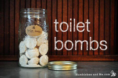 Lemon Eucalyptus Toilet Bombs from Humblebee & Me