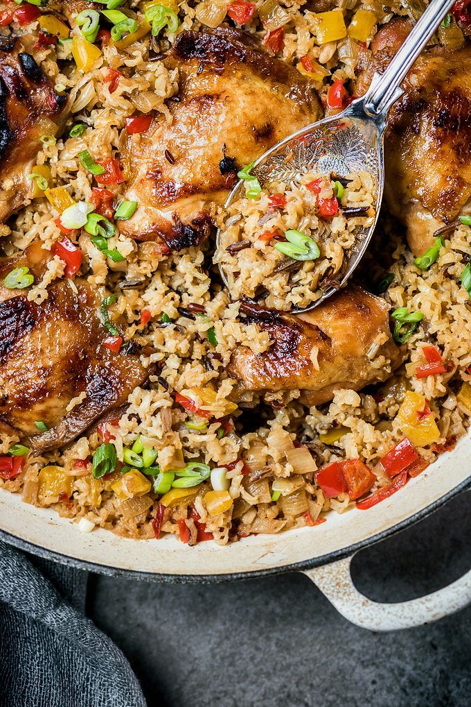One-pot Chinese Chicken and Rice