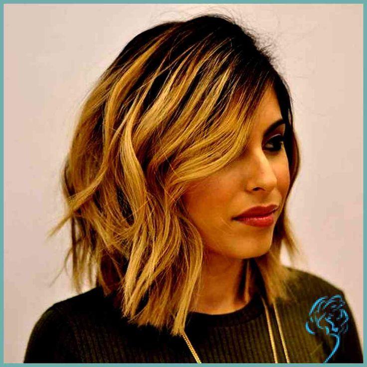 neues von frisuren long bob frisur einfache hair pinterest