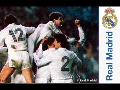Youtube Las noches mágicas del Bernabéu