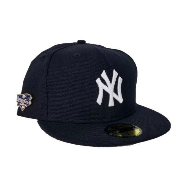 1df435abc3b2f NEW YORK Yankees 2000 WORLD SERIES METAL PIN NEW ERA 59FIFTY FITTED ...