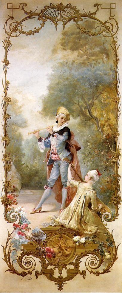 Elegance  Georges Jules Victor Clairin