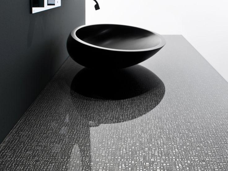 Glass Washbasin top MADRAS® NEW YORK - Vitrealspecchi