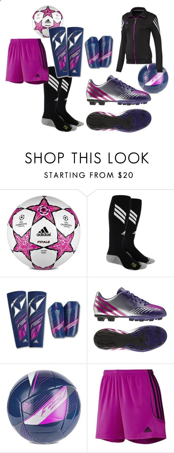 adidas Womens Soccer by adidas ❤ liked on Polyvore featuring adidas, womens clothing, women, female, woman, misses, juniors, shorts, soccer and cleats