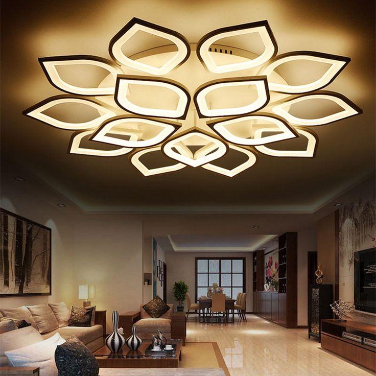 Lican Modern Led Ceiling Lights For Living Room Bedroom Plafon Home Dec  AC85 265V White Part 65