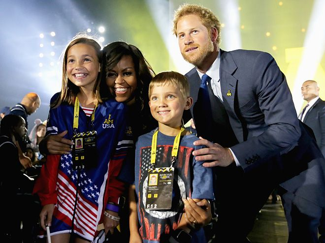 Prince Harry and His Heroes: All His Best Invictus Moments | NEW PALS | And you thought Harry and Michelle's friendship couldn't get any more adorable.