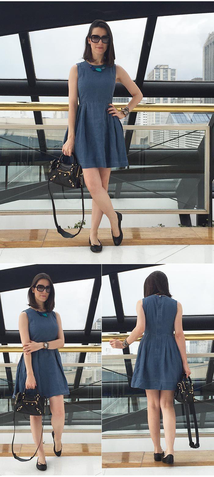 Look do Dia | Amor por vestidos para o dia a dia - MakeUp Atelier por Cinthia Ferreira Más