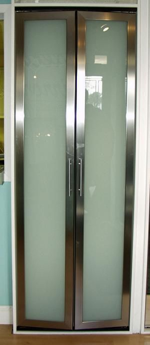 1000 Ideas About Mirrored Bifold Closet Doors On
